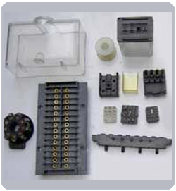 thermoset molding component